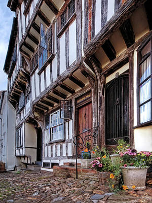 Dick Turpin Photograph - Medieval British Architecture - Dick Turpin's Cottage Thaxted by Gill Billington