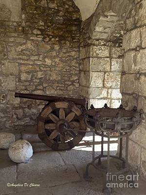 Photograph - Medieval Cannon- Lucca by Italian Art