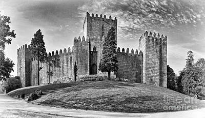 Castle Gate Photograph - Medieval Castle Keep by Jose Elias - Sofia Pereira