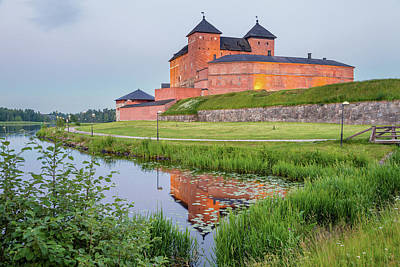 Medieval Castle Art Print by Teemu Tretjakov