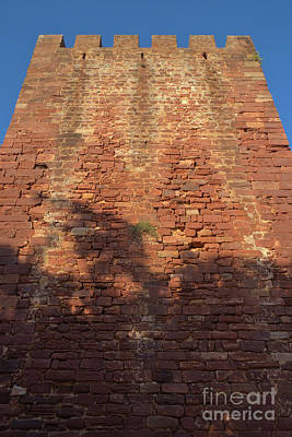 Ruins Photograph - Medieval Castle Tower In Silves by Angelo DeVal