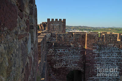 Medieval Photograph - Medieval Castle Walls In Silves by Angelo DeVal