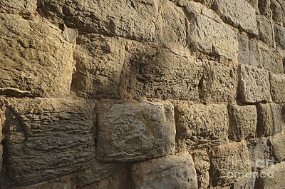 Christian Photograph - Medieval Church Wall by Angelo DeVal