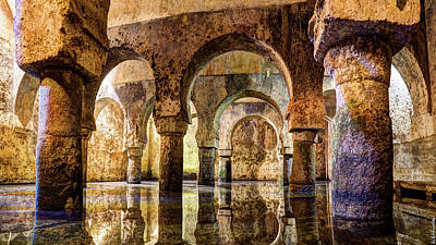 Photograph - Medieval Cistern In Caceres 01 by Weston Westmoreland