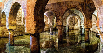 Photograph - Medieval Cistern In Caceres 02 by Weston Westmoreland