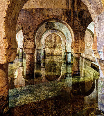 Photograph - Medieval Cistern In Caceres 03 by Weston Westmoreland