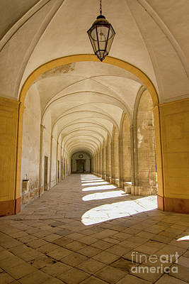 Photograph - Medieval Corridor In Cloister by Patricia Hofmeester