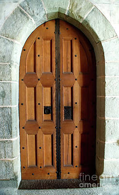 Photograph - Medieval Door by Michelle Meenawong