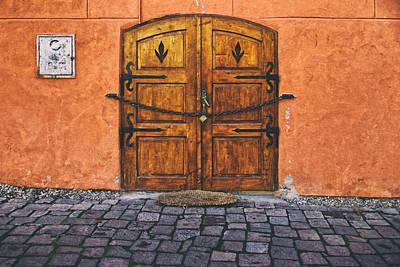 Photograph - Medieval Door Sighisoara by Adam Rainoff