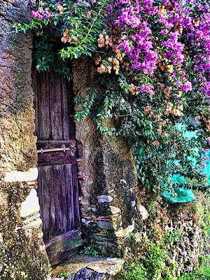 Photograph - Medieval Doorway by John Bushnell