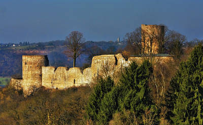 Photograph - Medieval Fortress In Germany by Tatiana Travelways