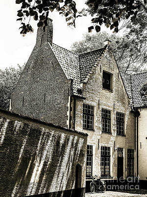 Photograph - Medieval House Of Brick by Lexa Harpell