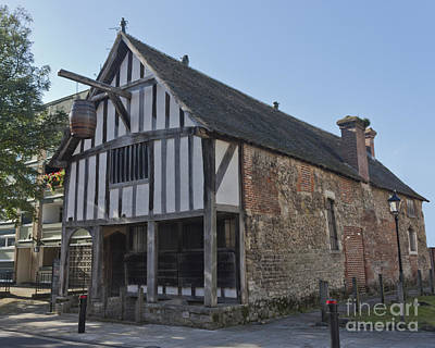 Photograph - Medieval Merchant's House Southampton Hampshire by Terri Waters