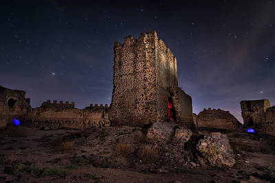 Photograph - Medieval Night by Hernan Bua