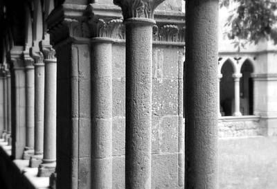Photograph - Medieval Pillars by Valentino Visentini