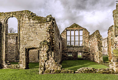 Photograph - Medieval Ruins by Nick Bywater
