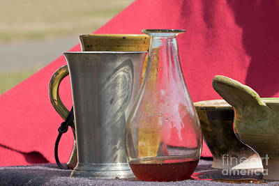 Photograph - Medieval Still Life by Terri Waters
