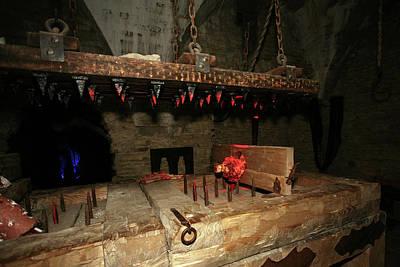 Door Locks And Handles - Medieval Torture Pain Machine in Rakvere Fortress by Aivar Mikko