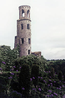 Blarney Castle Photograph - Medieval Tower by Joana Kruse