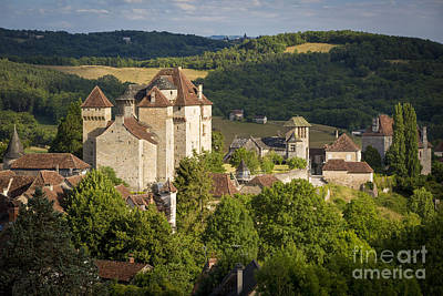 Photograph - Medieval Town - Curemont by Brian Jannsen