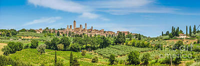 Photograph - Medieval Town Of San Gimignano by JR Photography