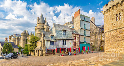 Photograph - Medieval Town Of Vitre by JR Photography
