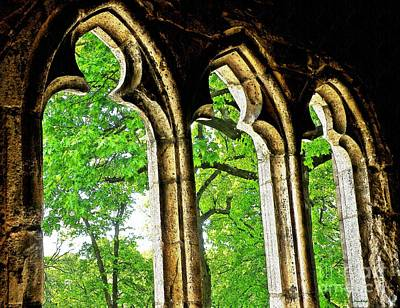 Photograph - Medieval Triptych by Sarah Loft