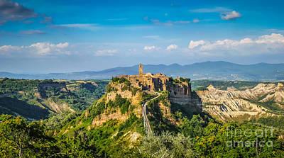Photograph - Medieval Village Civita Di Bagnoregio by JR Photography