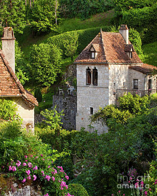 Photograph - Medieval Village Homes by Brian Jannsen