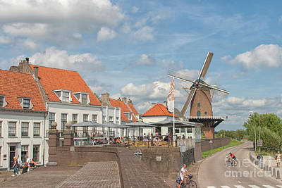 Photograph - Medieval Village Of Duurstede by Patricia Hofmeester
