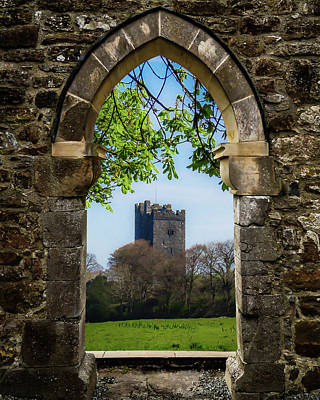 Photograph - Medieval Vista Of Dysert O'dea Castle by James Truett