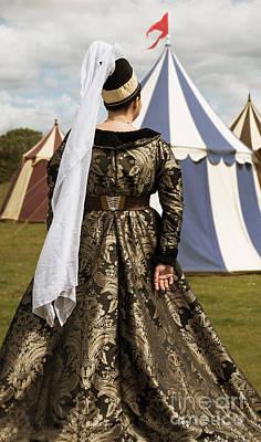 Medieval Woman Art Print