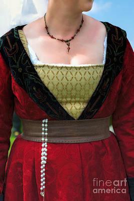 Medieval Costume Art Print by Amanda Elwell