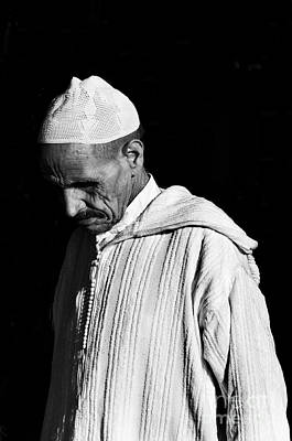 Marketplace Photograph - Medina Man 2 by Marion Galt