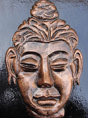 Meditating Buddha Art Print by Rajesh Chopra