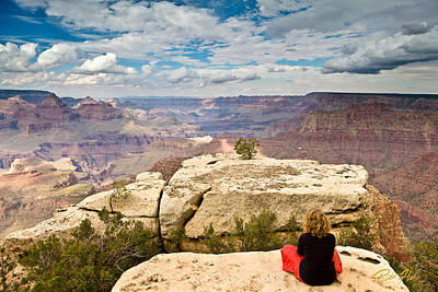 Photograph - Meditation At Grand Canyon by Rikk Flohr