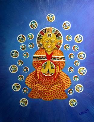 Mixed Media - Meditation by Bob Craig