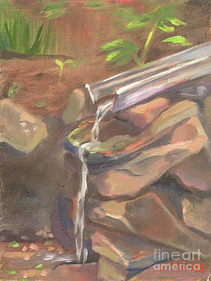 Painting - Meditation Falls by Lilibeth Andre