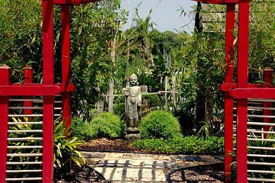 Hindu Gods Photograph - Meditation Garden by Susanne Van Hulst