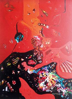 Painting - meditation I by Sanjay Punekar