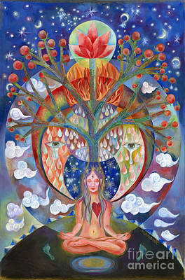 Meditation Art Print by Manami Lingerfelt