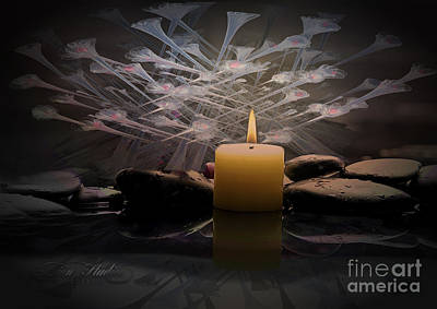 Digital Art - Meditation  by Melissa Messick
