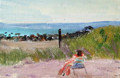 Painting - Meditation by Michael Helfen