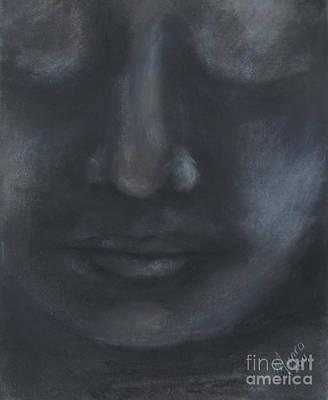 Contemplation Mixed Media - Meditation - Digitally Enhanced by Mandylee Munro