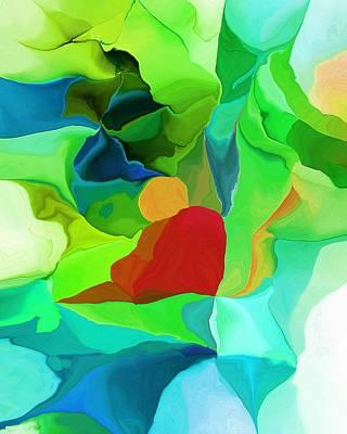 Digital Art - Meditation On Rock by David Lane