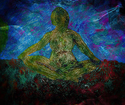Mixed Media - Meditation Practice by Dorothy Berry-Lound