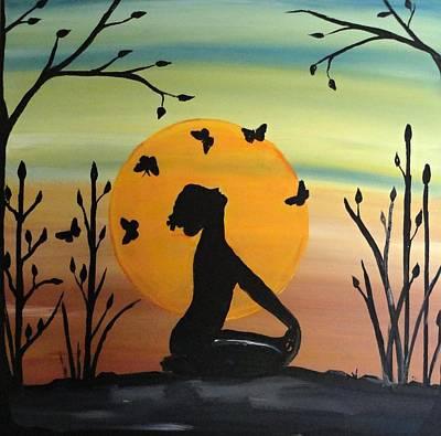 Meditation Art Print by Rachel Olynuk