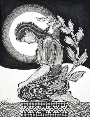 Meditation Art Print by Raul Agner