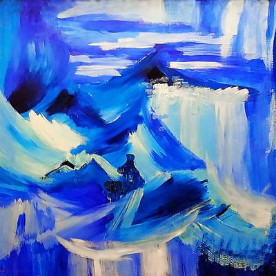 Painting - Meditation by Susan Vineyard