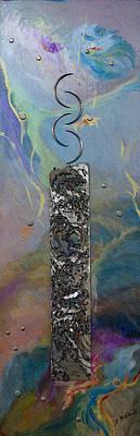 Plasma Cutter Mixed Media - Meditation V by Barbara McDonald